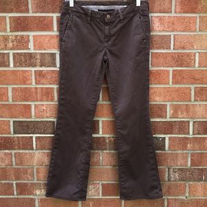 7 For All Mankind Low Rise BootCut Brown Pants